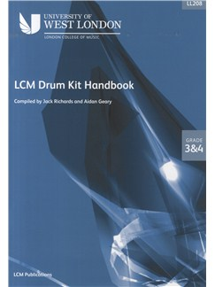 London College of Music Drum Kit Handbook 2009 Grades 3 And 4 Books and CDs | Drums