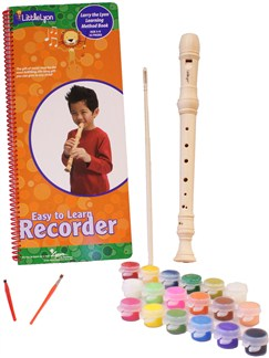 Little Lyon: Recorder (Decorate Your Own Version) Instruments | Recorder, Soprano (Descant) Recorder