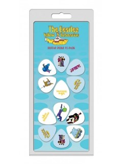Perri's: 12 Pick Pack - The Beatles: Yellow Submarine  | Guitar