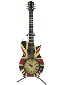 Lesser & Pavey: Electric Guitar Clock - Union Jack  | Electric Guitar