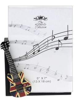 Lesser & Pavey: Electric Guitar Photo Frame - Union Jack  | Electric Guitar
