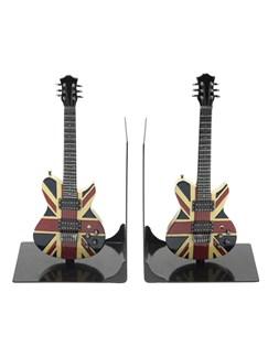 Lesser & Pavey: Electric Guitar Book Ends - Union Jack  | Electric Guitar