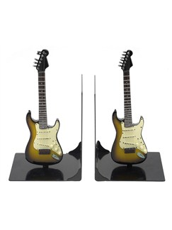 Lesser & Pavey: Electric Guitar Book Ends - Sunburst  | Electric Guitar