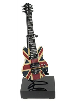 Lesser & Pavey: Model Electric Guitar On Stand - Union Jack  | Electric Guitar