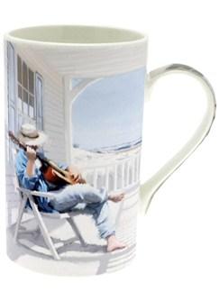 Lesser & Pavey: Man's Life Mug - Beach  |