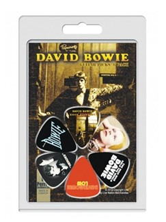 Perri's: 6 Pick Pack - David Bowie: Album Covers  | Gitarre