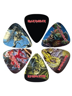 Perri's: 6 Pick Pack - Iron Maiden: Killers  | Guitar