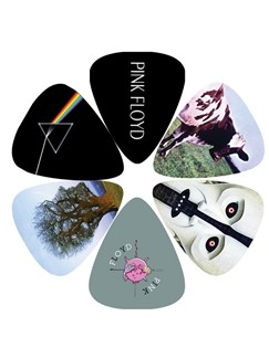 Perri's: 6 Pick Pack - Pink Floyd: Dark Side Of The Moon  | Guitar