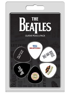 Perri's: 6 Pick Pack - The Beatles Albums: No.1  | Guitar