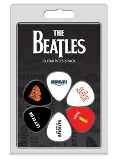 Perri's: 6 Pick Pack - The Beatles Albums: No.2  | Guitar