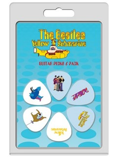 Perri's: 6 Pick Pack - The Beatles: Yellow Submarine No.1  | Guitar