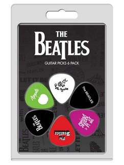 Perri's: 6 Pick Pack - The Beatles  | Guitar