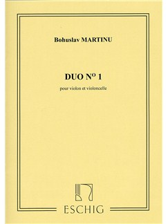 Bohuslav Martinu: Duo No.1 Books | Violin, Cello