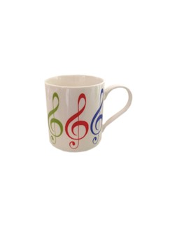 Little Snoring: Fine China Mug - Allegro (Treble Clef)  |