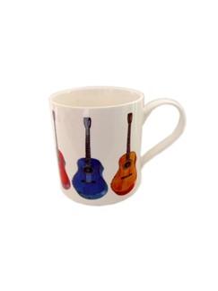 Little Snoring: Fine China Mug - Allegro (Acoustic Guitar)  |
