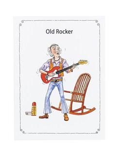 "Little Snoring: 7"" x 5"" Greetings Card - Old Rocker  |"
