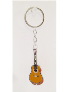 Little Snoring Keyring: Guitar  |