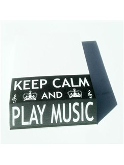 Little Snoring Gifts: Slant Pad - Keep Calm And Play Music  |