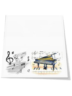 Little Snoring Gifts: Slant Pad - Piano  |