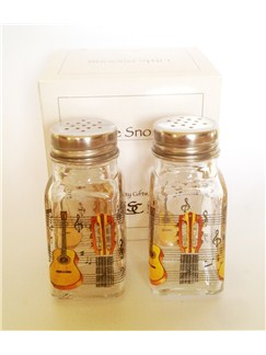 Little Snoring: Salt & Pepper Shaker - Acoustic Guitar  |