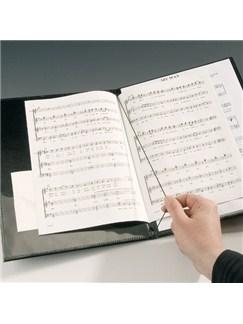 Leuchtturm1917: Music Portfolio/Choir Folder - Black  | Voice