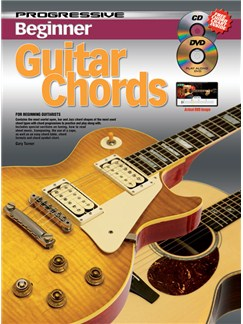 Progressive: Beginner Guitar Chords (Book/CD/DVD) Books, CDs and DVDs / Videos | Guitar