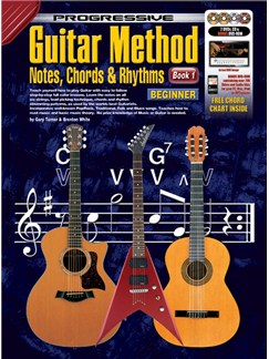 Progressive: Guitar Method - Notes, Chords And Rhythms: Book 1 (Book/CD/2DVDs) Books, CDs and DVDs / Videos | Guitar