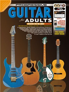 Progressive: Guitar For Adults (Book/CD/DVDs/DVD-ROM/Poster) Books, CD-Roms / DVD-Roms, CDs and DVDs / Videos | Guitar