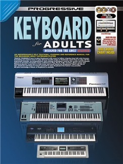 Progressive: Keyboard For Adults (Book/CD/2DVDs/DVD-ROM/Poster) Books, CD-Roms / DVD-Roms, CDs and DVDs / Videos | Keyboard