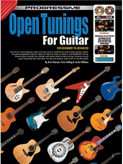 Progressive Open Tunings For Guitar Books and DVDs / Videos | Guitar