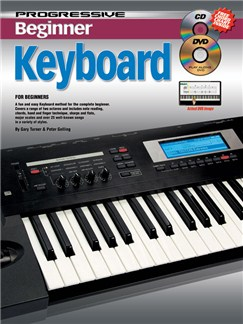 Progressive: Beginner Keyboard (Book/CD/DVD) Books, CDs and DVDs / Videos | Keyboard