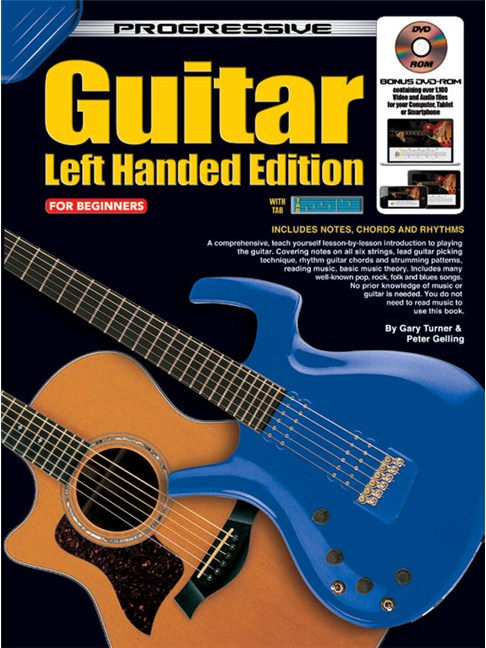 Progressive Guitar Left Handed Edition Guitar Books Tuition