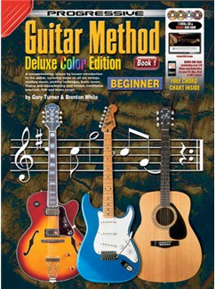 Progressive: Guitar Method - Book 1: Delux Colour Edition (Book/CD/2 DVDs/DVD-ROM/Poster) Books, CD-Roms / DVD-Roms, CDs and DVDs / Videos | Guitar