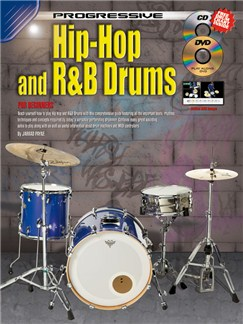 Progressive: Hip Hop And R&B Drums (Book/CD/DVD/Poster) Books, CDs and DVDs / Videos | Drums