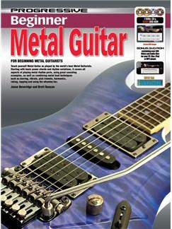 Progressive: Beginner Metal Guitar (Book/CD/2DVDs/DVD-ROM/Poster) Books, CD-Roms / DVD-Roms, CDs and DVDs / Videos | Guitar