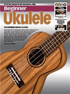 Progressive: Beginner Ukulele (Book/CD/2DVDs/DVD-ROM/Poster) Books, CD-Roms / DVD-Roms, CDs and DVDs / Videos | Ukulele