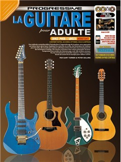 La Guitare Progressive Pour Adulte (Livre/CD/DVD) Books, CDs and DVDs / Videos | Guitar