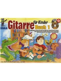 gitarre f r kinder book cd dvd poster guitar books. Black Bedroom Furniture Sets. Home Design Ideas