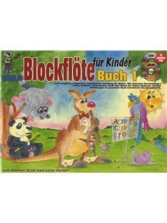 Blockflöte Für Kinder (Book/CD/DVD/Poster) Books, CDs and DVDs / Videos | Recorder
