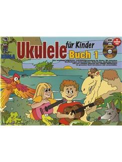 ukulele f r kinder book cd dvd poster ukulele books. Black Bedroom Furniture Sets. Home Design Ideas