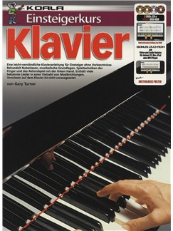 Einsteigerkurs Klavier (Book/CD/2xDVD/Poster) Books, CDs and DVDs / Videos | Piano