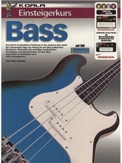 Einsteigerkurs Bass (Book/CD/2xDVD/Poster) Books, CDs and DVDs / Videos | Bass Guitar