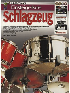Einsteigerkurs Schlagzeug (Book/CD/2xDVD/Poster) Books, CDs and DVDs / Videos | Drums