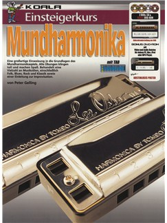 Einsteigerkurs Mundharmonika (Book/CD/2xDVD/Poster) Books, CDs and DVDs / Videos | Harmonica