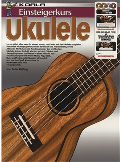 Einsteigerkurs Ukulele (Book/CD/2xDVD/Poster) Books, CDs and DVDs / Videos | Ukulele