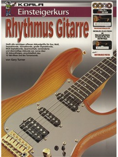 Einsteigerkurs Rhythmus Gitarre (Book/CD/2xDVD/Poster) Books, CDs and DVDs / Videos | Guitar