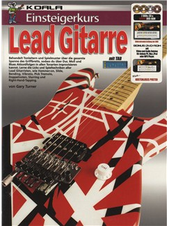 Einsteigerkurs Lead Gitarre (Book/CD/2xDVD/Poster) Books, CDs and DVDs / Videos | Guitar