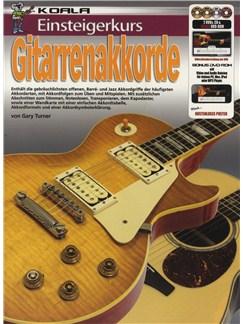 Einsteigerkurs Gitarren Akkorde (Book/CD/DVD/Poster) Books, CDs and DVDs / Videos | Electric Guitar
