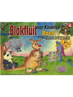 Blokfluit Voor Kinderen: Boek 1 (Dutch) (Book/CD/DVD) Books, CDs and DVDs / Videos | Recorder