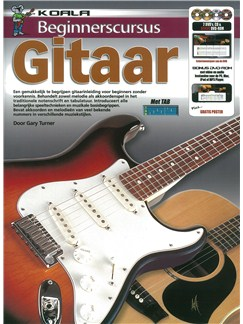 Beginnerscursus: Gitaar (Dutch) (Book/CD/2 DVDs/DVD-ROM) Books, CD-Roms / DVD-Roms, CDs and DVDs / Videos | Guitar
